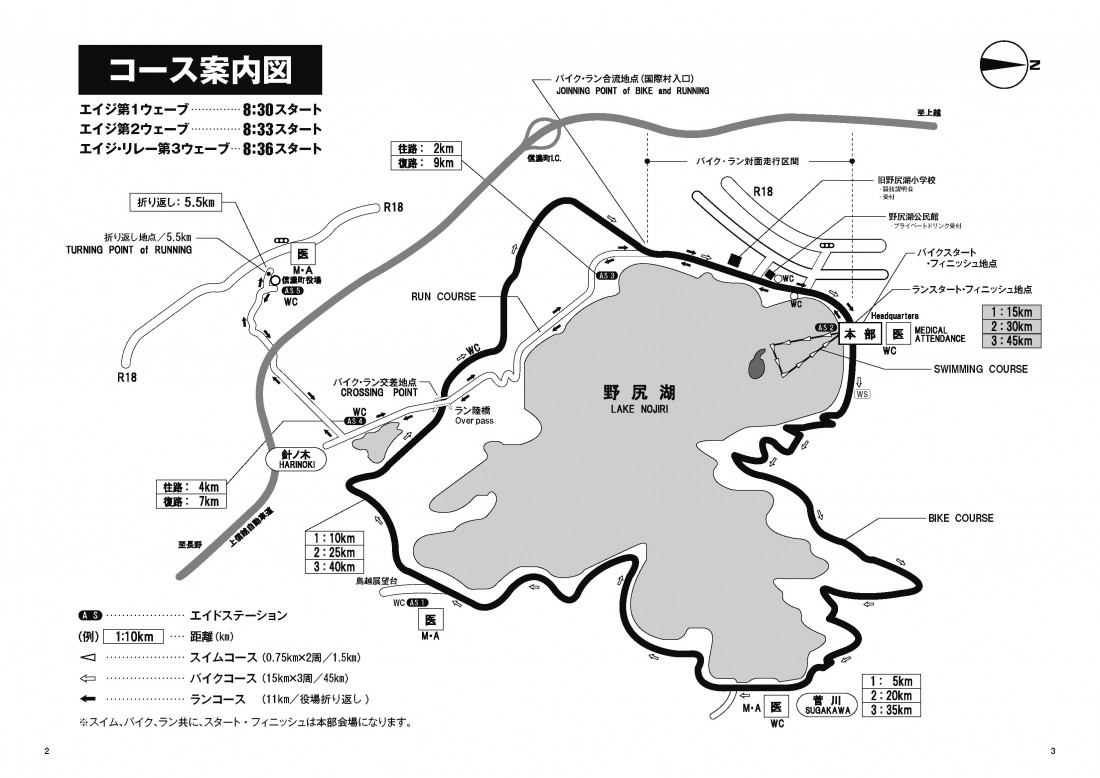 エイジコース図